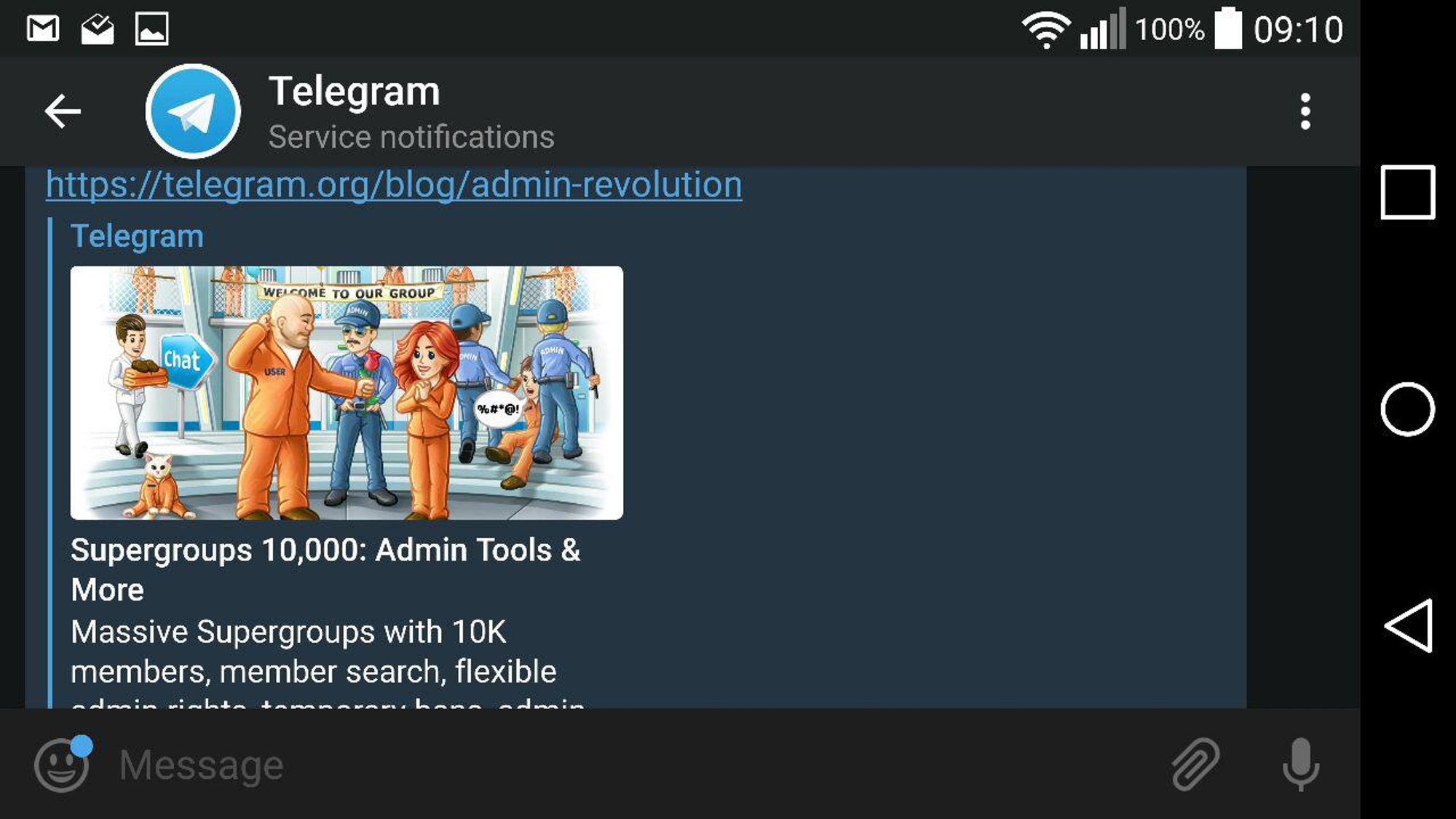 HOWTO: [Telegram, cloud, transfer files, mobile] How to use Telegram