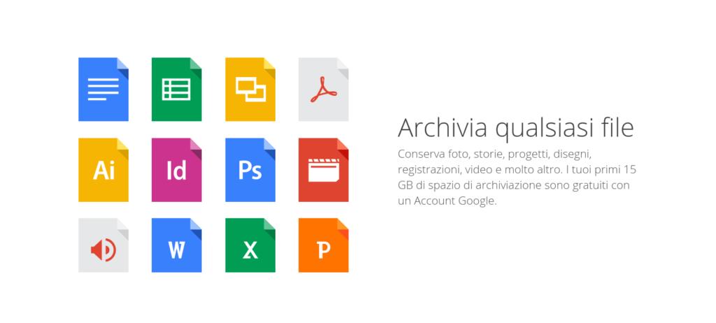 Archiviazione gratuita dei files con Google Drive - Corso di Google Drive con Allart Softworks