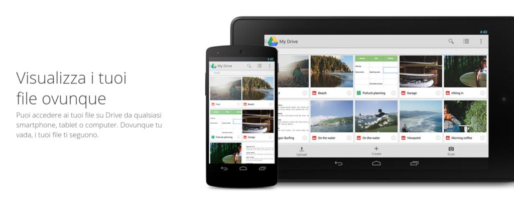 Dati in cloud con Google Drive - Corso di Google Drive con Allart Softworks